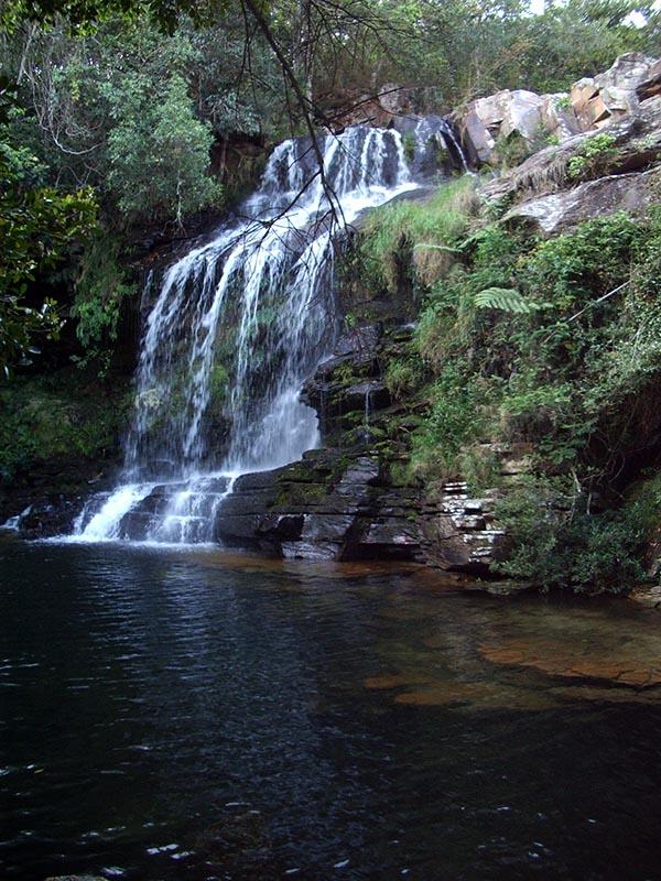 Cachoeira da Paz, uma das belas cachoeiras do Complexo do Claro
